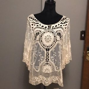 Altar'd State bohemian lace top